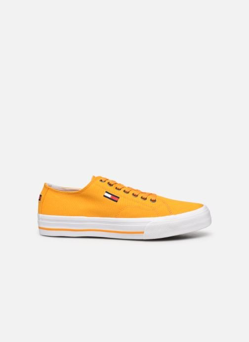 Sneakers Tommy Hilfiger LONG LACE UP VULC Giallo immagine posteriore