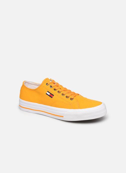 Sneaker Tommy Hilfiger LONG LACE UP VULC gelb detaillierte ansicht/modell