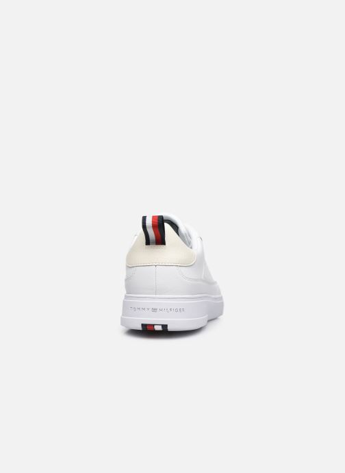 Sneakers Tommy Hilfiger MODERN CUPSOLE LEATHER Bianco immagine destra