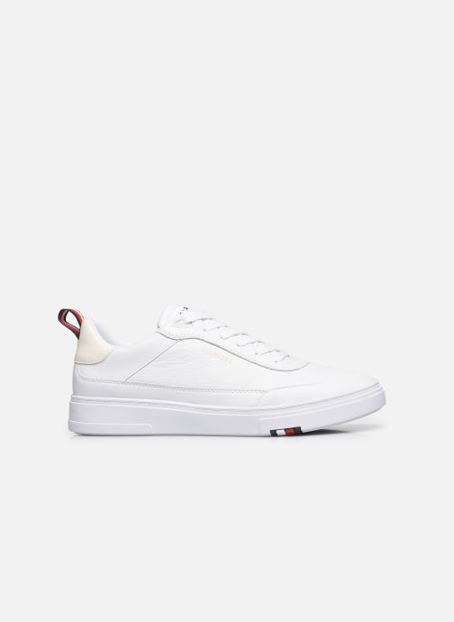 Sneakers Tommy Hilfiger MODERN CUPSOLE LEATHER Bianco immagine posteriore