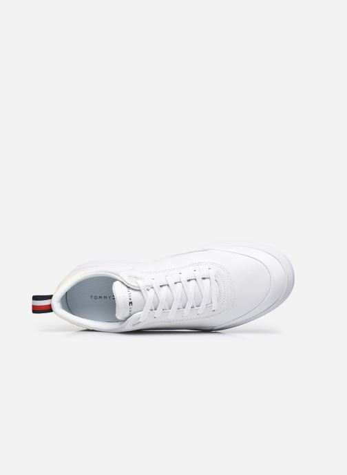 Sneakers Tommy Hilfiger MODERN CUPSOLE LEATHER Bianco immagine sinistra