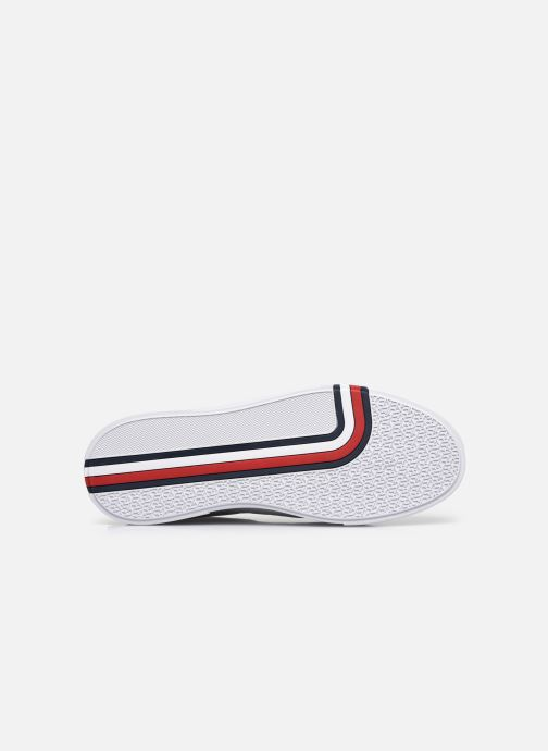 Sneakers Tommy Hilfiger MODERN CUPSOLE LEATHER Bianco immagine dall'alto
