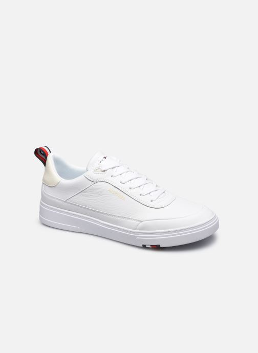 Sneakers Tommy Hilfiger MODERN CUPSOLE LEATHER Bianco vedi dettaglio/paio