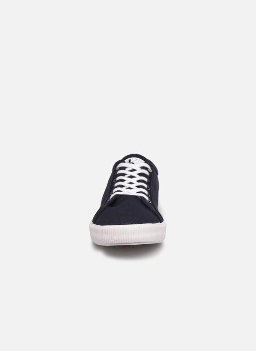 Sneaker Calvin Klein VULCANIZED SNEAKER LACEUP CO blau schuhe getragen