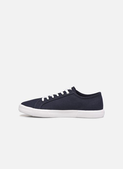 Sneaker Calvin Klein VULCANIZED SNEAKER LACEUP CO blau ansicht von vorne