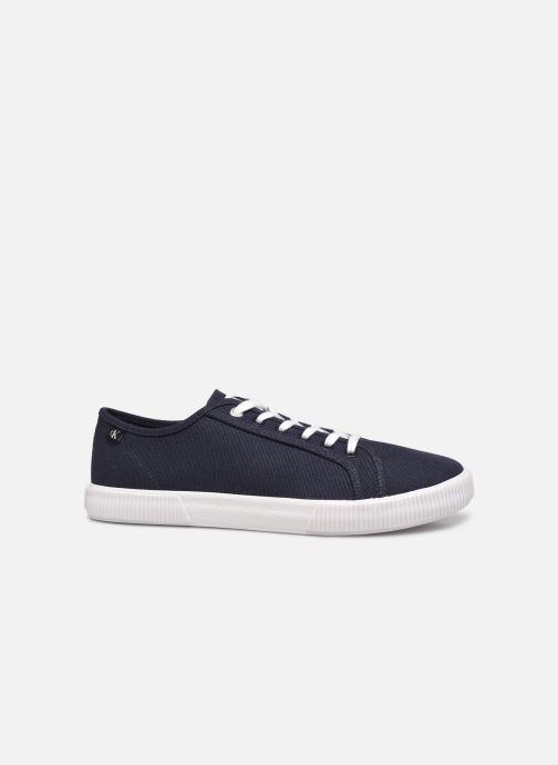 Sneaker Calvin Klein VULCANIZED SNEAKER LACEUP CO blau ansicht von hinten