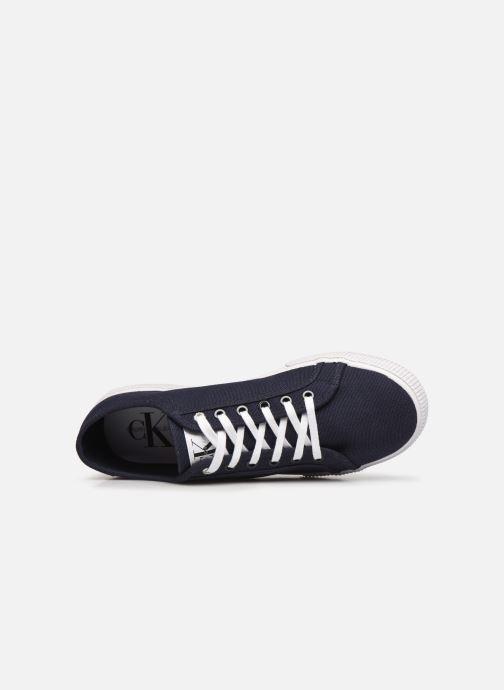 Sneaker Calvin Klein VULCANIZED SNEAKER LACEUP CO blau ansicht von links