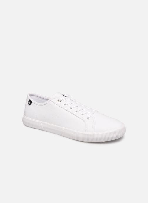 Sneakers Calvin Klein VULCANIZED SNEAKER LACEUP CO Wit detail