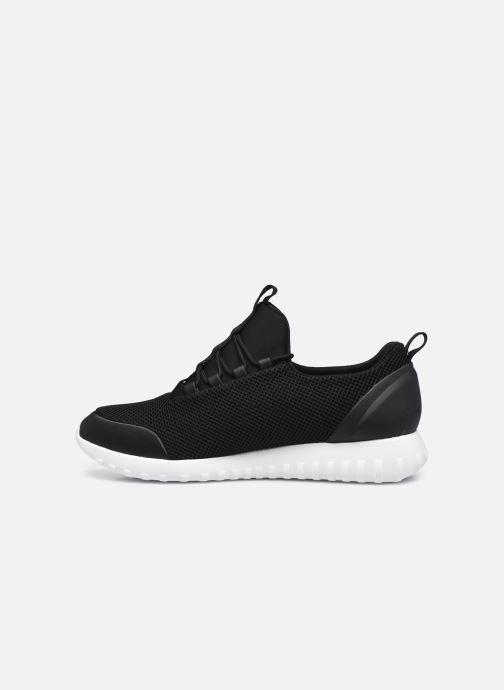 Sneaker Calvin Klein RUNNER SNEAKER LACEUP MESH schwarz ansicht von vorne