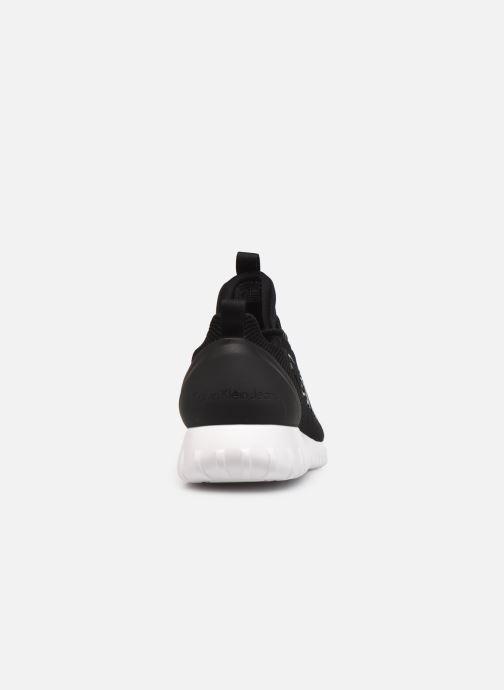 Sneaker Calvin Klein RUNNER SNEAKER LACEUP MESH schwarz ansicht von rechts