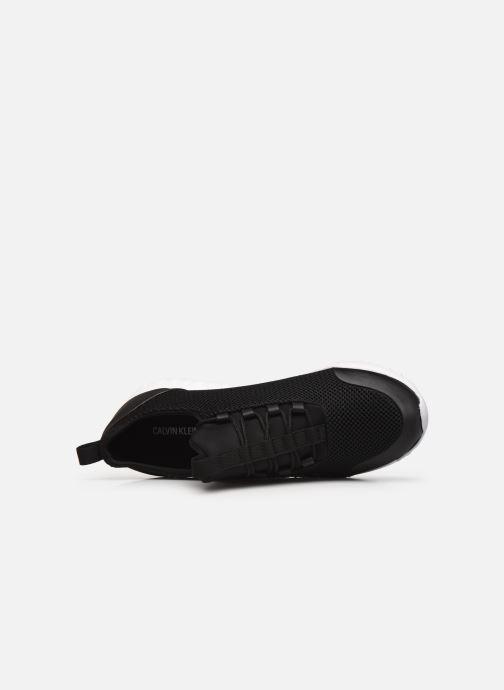 Sneaker Calvin Klein RUNNER SNEAKER LACEUP MESH schwarz ansicht von links