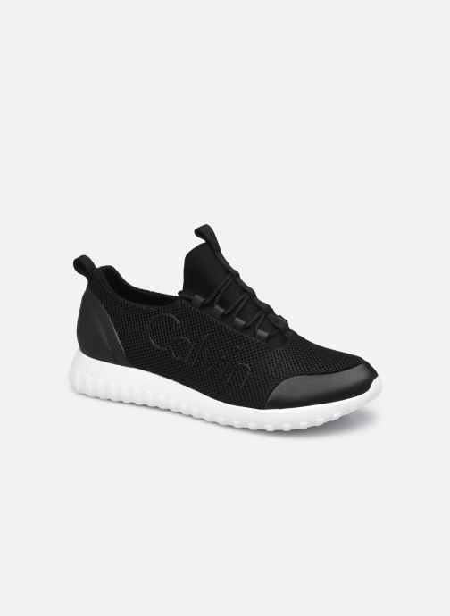 Sneakers Calvin Klein RUNNER SNEAKER LACEUP MESH Zwart detail