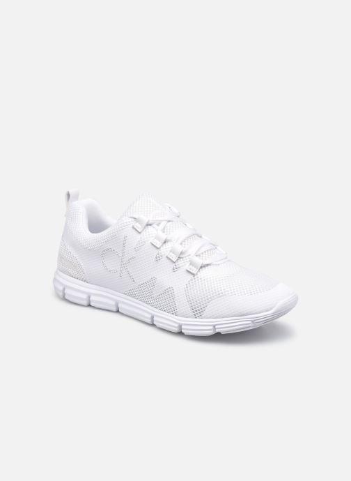 Sneakers Calvin Klein RUNNER SNEAKER LACEUP SCLY Wit detail