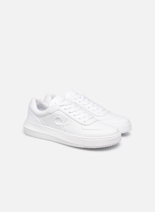 Sneaker Calvin Klein CHUNKY SOLE  LACEUP OXFORD LTH weiß 3 von 4 ansichten