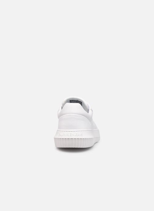 Sneaker Calvin Klein CHUNKY SOLE  LACEUP OXFORD LTH weiß ansicht von rechts