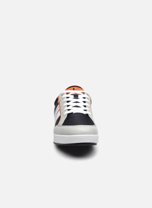 Sneaker Calvin Klein LOW PROFILE SNEAKER LACEUP PU-NY blau schuhe getragen
