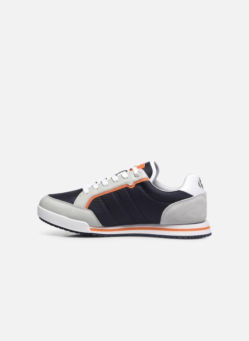 Sneaker Calvin Klein LOW PROFILE SNEAKER LACEUP PU-NY blau ansicht von vorne