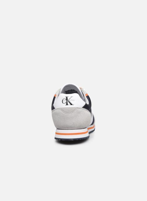 Sneaker Calvin Klein LOW PROFILE SNEAKER LACEUP PU-NY blau ansicht von rechts