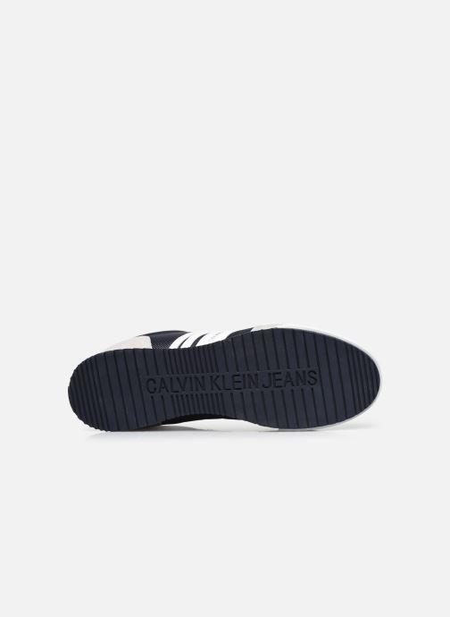 Sneaker Calvin Klein LOW PROFILE SNEAKER LACEUP PU-NY blau ansicht von oben