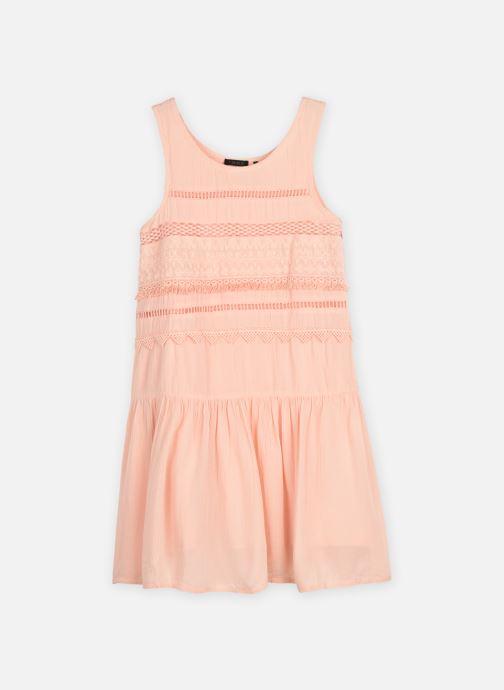 Vêtements IKKS JUNIOR  Robe brodée XS31012 Rose vue détail/paire