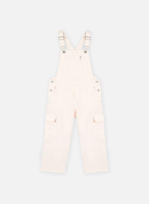 Vêtements IKKS JUNIOR  Salopette en denim XS20002 Rose vue détail/paire