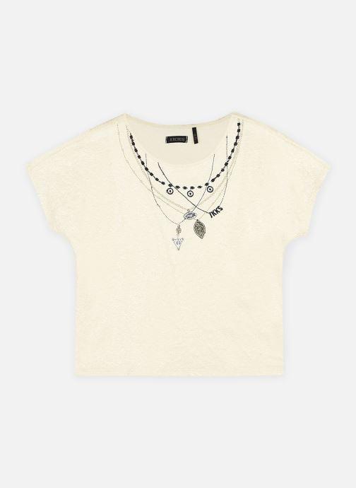 T-shirt - détails doré pailleté XS10102