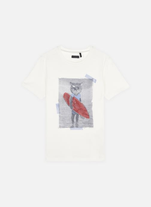 Vêtements Accessoires Tee-shirt imprimé chat surfeur XS10313