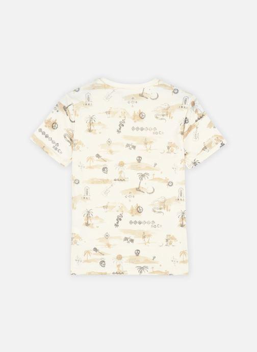 Vêtements IKKS JUNIOR  Tee-shirt thème marrakech et rock XS10093 Beige vue portées chaussures