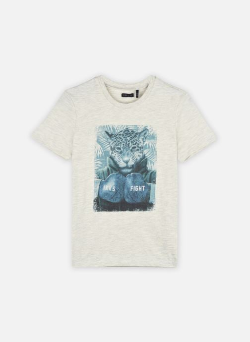 Vêtements Accessoires Tee-shirt visuel léopard et boxe XS10183