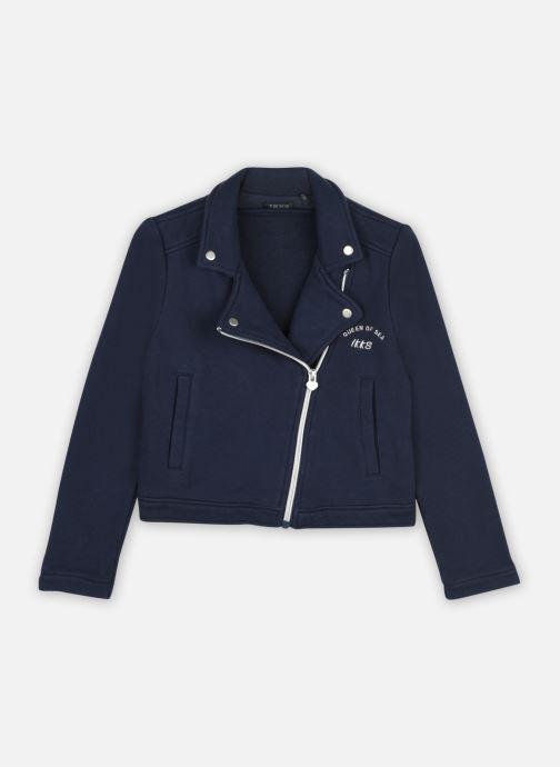 Vêtements IKKS JUNIOR  Veste perfecto en molleton XS17072 Bleu vue détail/paire