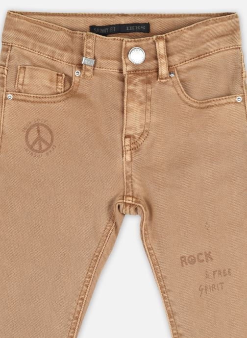 "Vêtements IKKS JUNIOR  Denim ""Rock & Free Spirit"" XS29073 Marron vue face"
