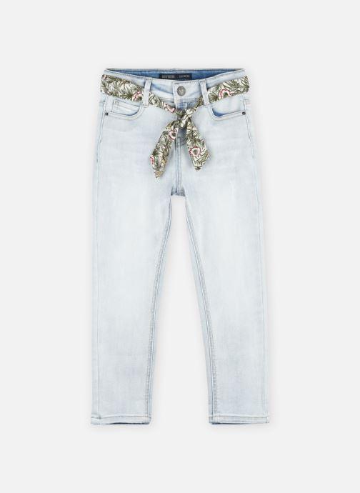 Kleding IKKS JUNIOR  Denim ceinture foulard XS29042 Blauw detail