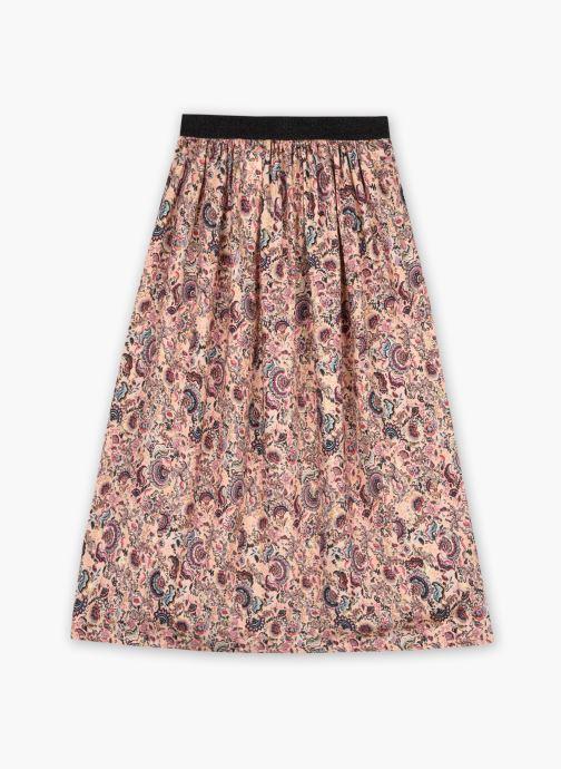 Vêtements IKKS JUNIOR  Jupe longue imprimé XS27022 Multicolore vue portées chaussures