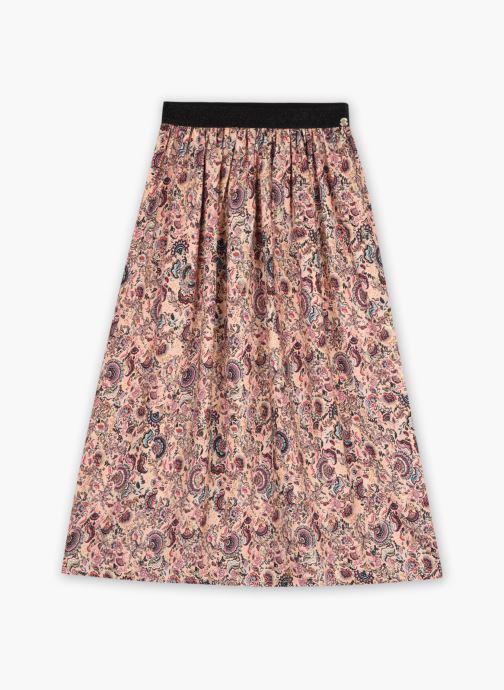 Vêtements IKKS JUNIOR  Jupe longue imprimé XS27022 Multicolore vue détail/paire