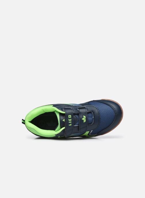 Sneakers Lico Charlie V Azzurro immagine sinistra