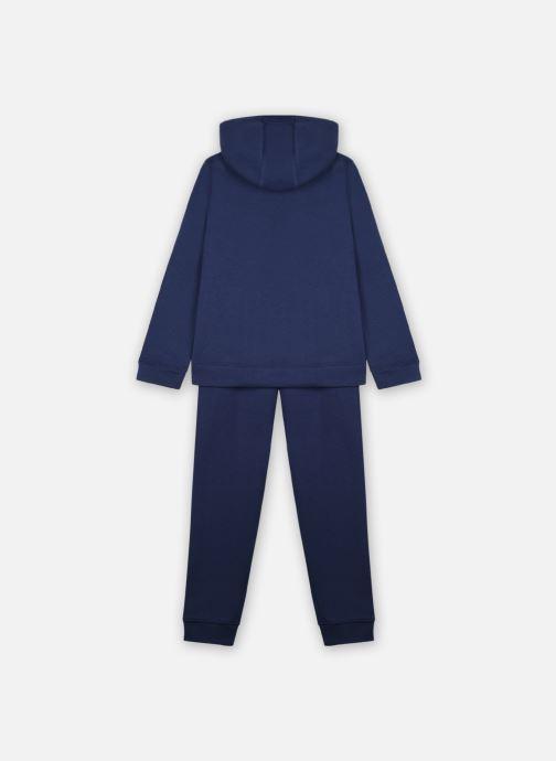 Vêtements Nike B Nsw Core Bf Trk Suit Bleu vue portées chaussures