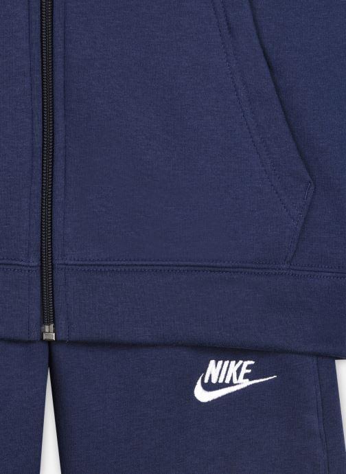 Vêtements Nike B Nsw Core Bf Trk Suit Bleu vue face