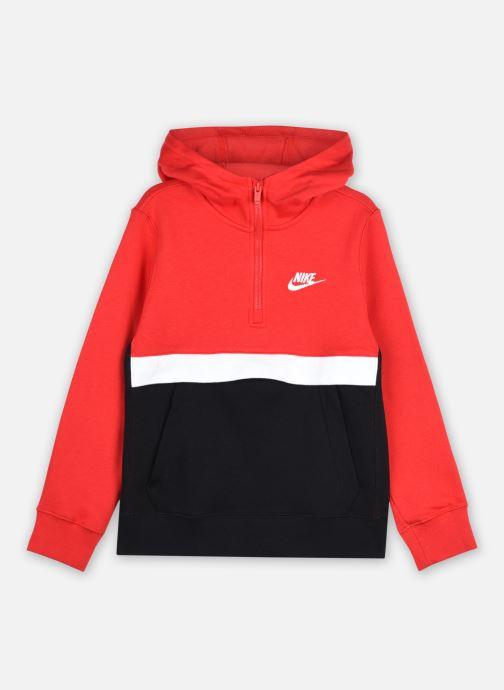 Vêtements Nike B Nsw Club Hz Rouge vue détail/paire