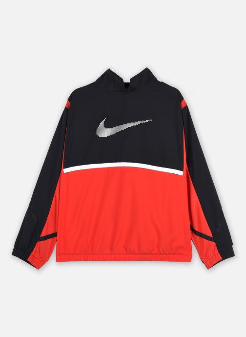 Vêtements Nike B Nk Crossover Jacket Noir vue portées chaussures
