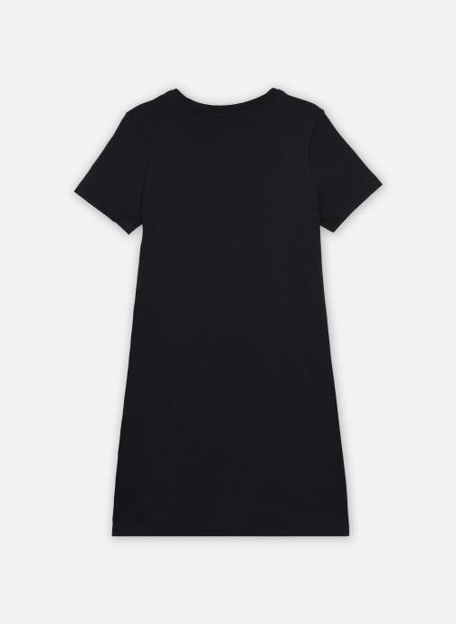 Vêtements Nike G Nsw Futura Tshirt Dress Noir vue portées chaussures