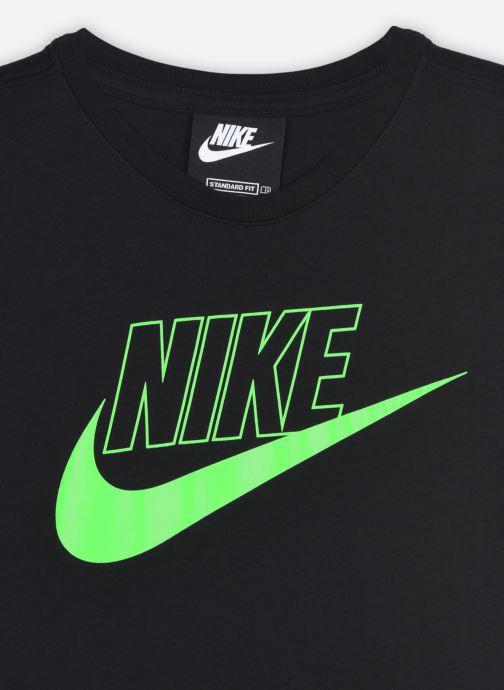 Vêtements Nike G Nsw Futura Tshirt Dress Noir vue face