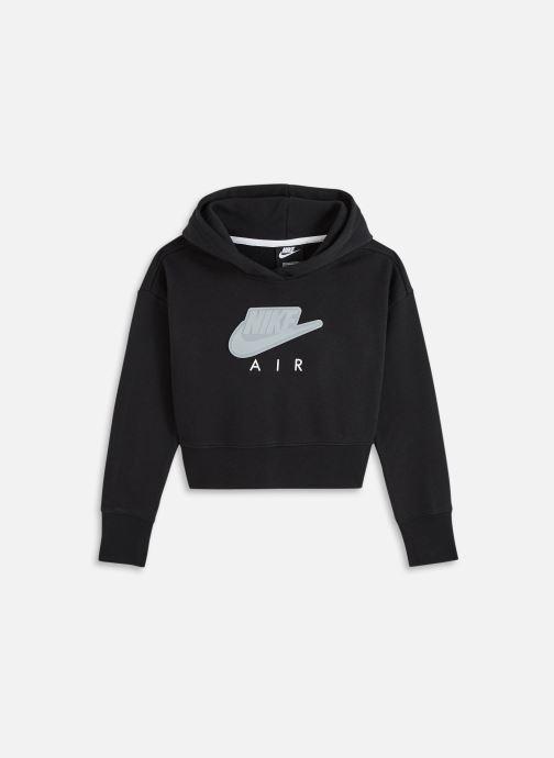 Vêtements Nike G Nsw Air Ft Crop Hoodie Hbr Noir vue détail/paire
