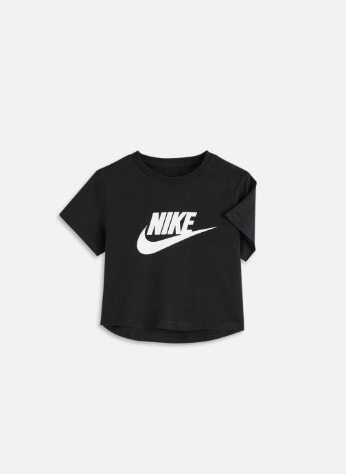 Vêtements Nike G Nsw Tee Crop Futura Noir vue détail/paire
