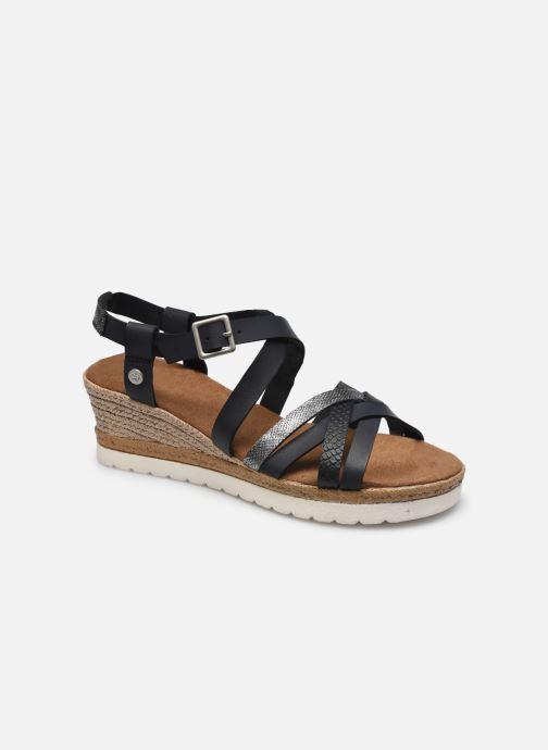 Sandales et nu-pieds Mustang shoes Shadi Noir vue détail/paire