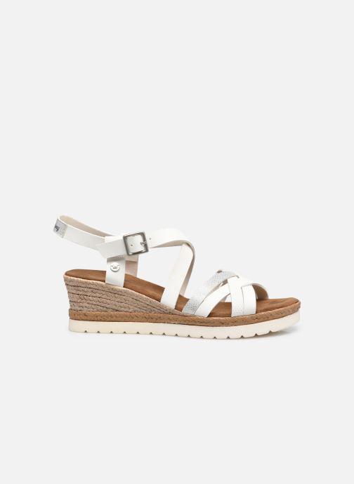 Sandales et nu-pieds Mustang shoes Shadi Blanc vue derrière