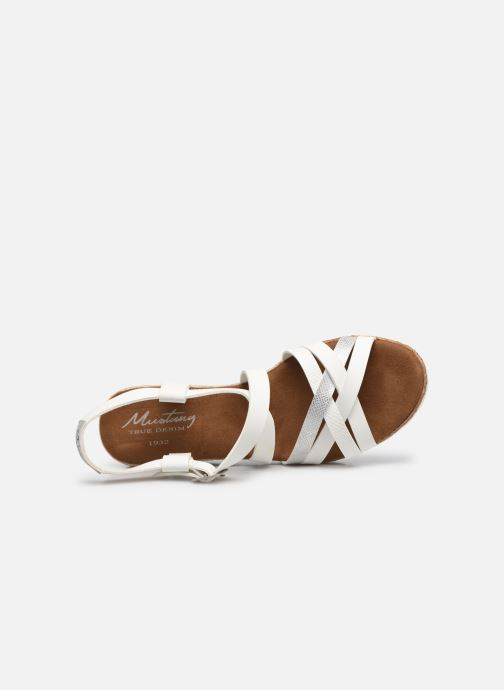 Sandali e scarpe aperte Mustang shoes Shadi Bianco immagine sinistra