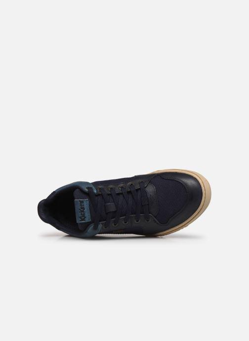 Sneaker Kickers JUNGLE H blau ansicht von links