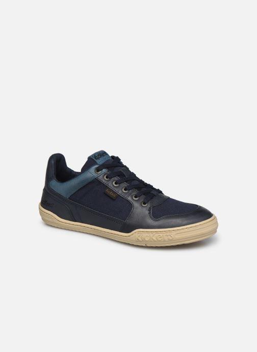 Sneaker Kickers JUNGLE H blau detaillierte ansicht/modell