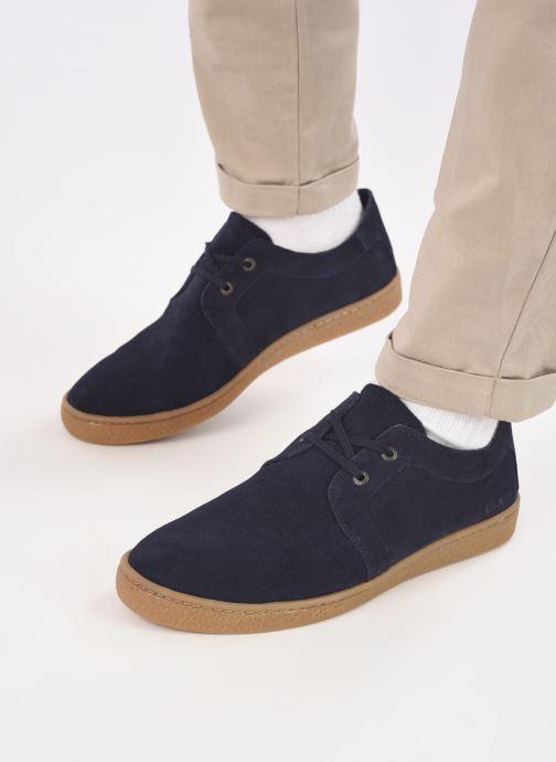 Sneaker Kickers SALHIN blau ansicht von unten / tasche getragen