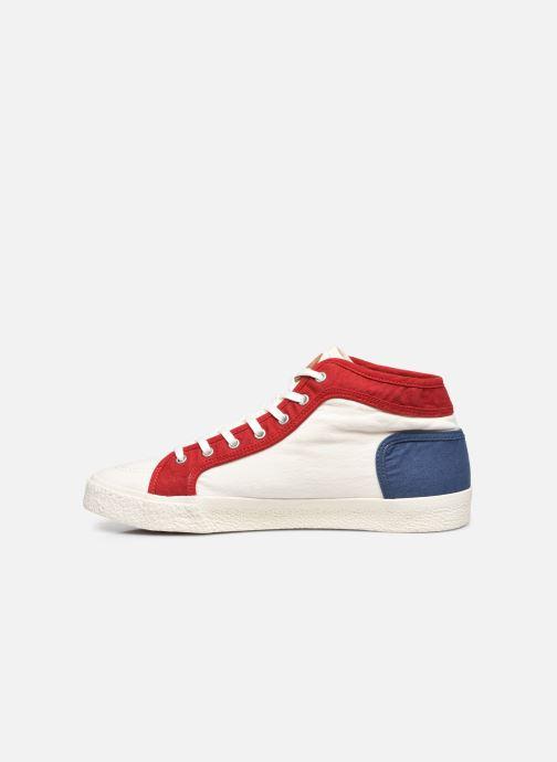 Sneakers Kickers ARVEILER Bianco immagine frontale